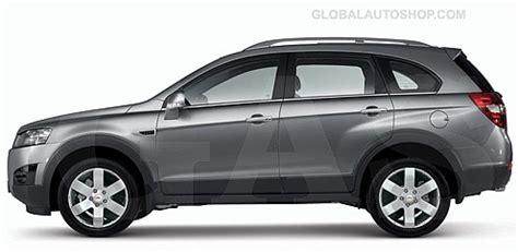 Chevrolet Captiva Chrome Body Side Door Molding Trim