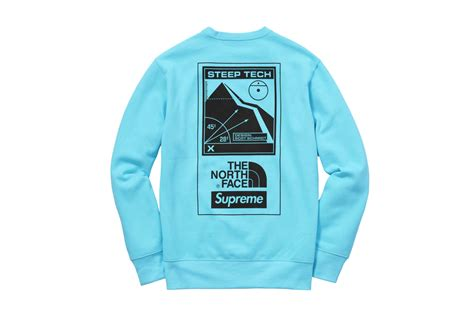 Kaos Tshirt Supreme Tnf Black the supreme lineup in nyc was craziness as usual this week