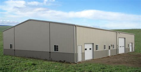 Metal Barn Wholesale steel barns and 3 12 pitch metal buildings for sale at