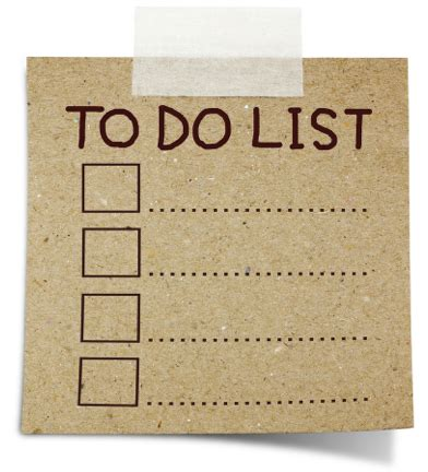 to do with the trouble with to do lists eduleadership