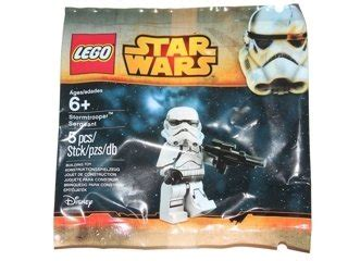 Lego Wars Stormtrooper Sergeant Polybag lego wars stormtrooper sergeant polybag mini figure