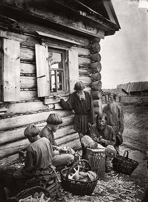 russian peasants 19th century vintage russian peasants and their craft jobs early 20th