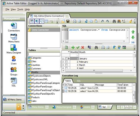 layout editor in database active table editor design data entry forms and edit any
