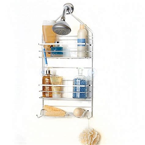 bed bath beyond shower caddy spa creations rustproof shower caddy bed bath beyond