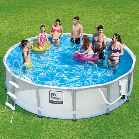 7 x 4ft pool summer waves 10 x 30 quot round frame above ground