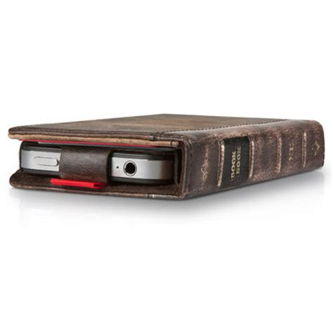 twelve south bookbook for iphone 4s 4 brown