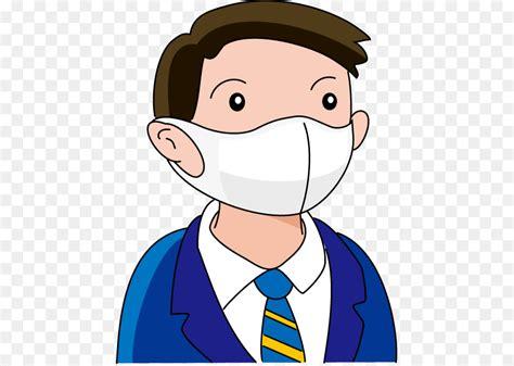 koleksi gambar kartun  pakai masker gratis terbaru