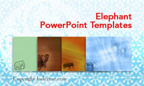 elephant powerpoint template elephant powerpoint templates