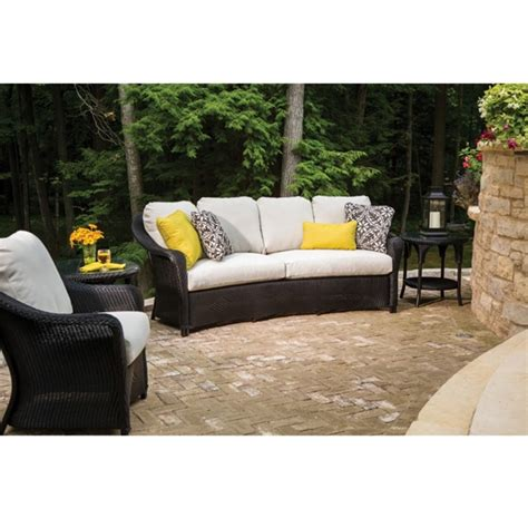 lloyd outdoor furniture lloyd flanders reflections loom wicker patio set with