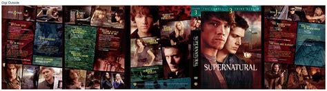 Dvd Supernatural Season 3 season 3 dvd supernatural photo 1650573 fanpop
