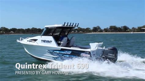 boat r brisbane quintrex trident 690 yamaha f225hp 4 stroke boat review