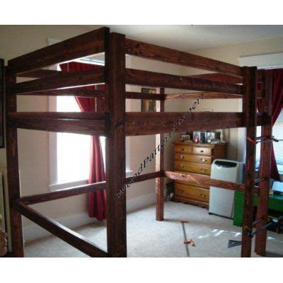 amazon loft bed with amazon com loft bunk bed paper plans so easy beginners
