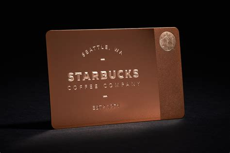starbucks limited edition metal gift card for gilt hypebeast - Limited Gift Cards