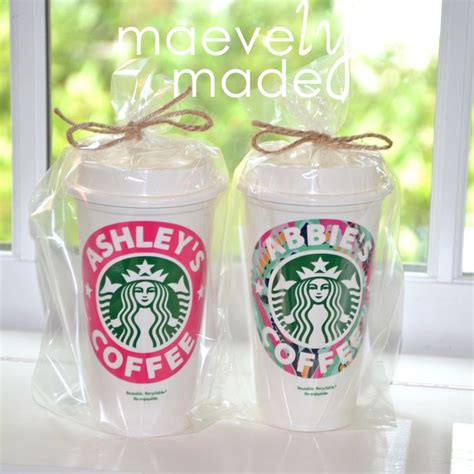 starbucks lilly pulitzer top 25 ideas about starbucks cup gift on