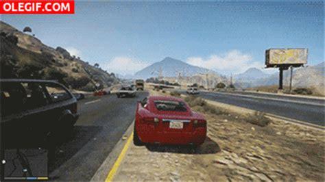 imagenes gif videojuegos gif conducci 243 n temeraria en gta v gif 5836