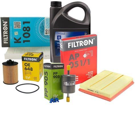 filtron opel corsa  bakim kiti    benzinli motor