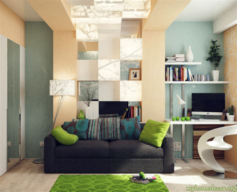 blue and green home decor blue interior design office decosee
