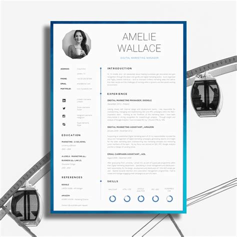 17 awesome exles of creative cv templates guru