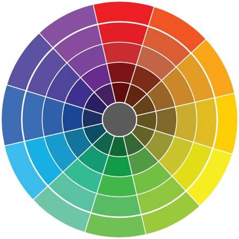 17 best ideas about paint color wheel on color wheel color wheel design and