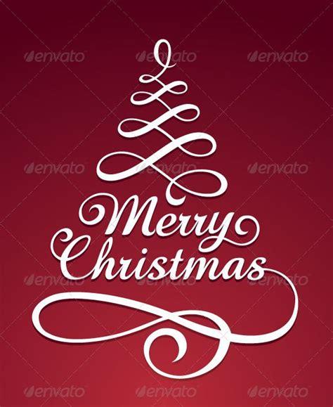 creative christmas typography designs   greeting cards christmas typography merry
