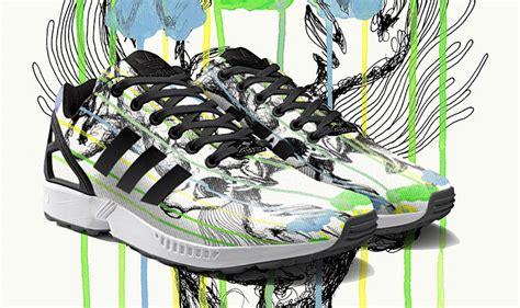 adidas originals zx flux miadidas custom sneakers