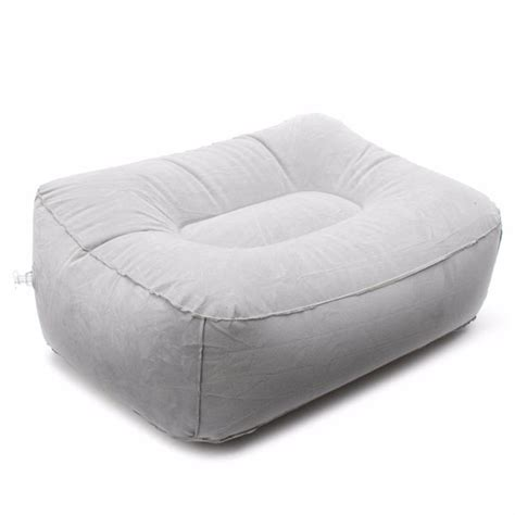foot rest sofa inflatable portable chair outdoor plush pneumatic foot