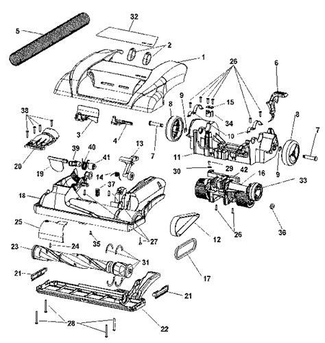 hoover floormate parts diagram hoover u6655 vacuum parts