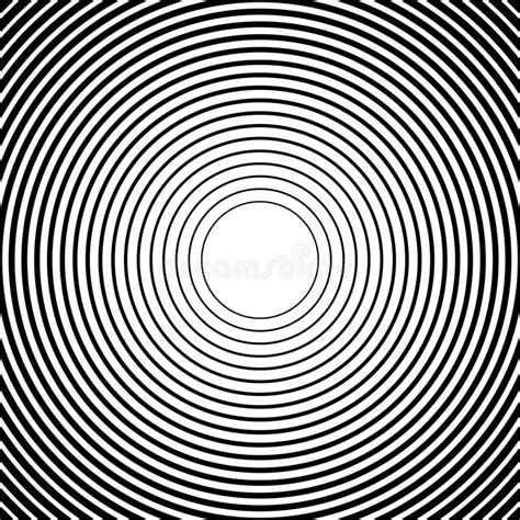pattern radial illustrator concentric circles radial lines patterns monochrome