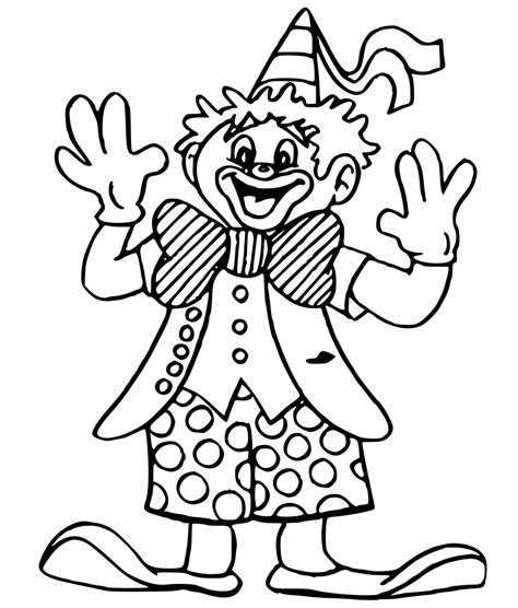 clown coloring pages pdf clown coloring pages 7081