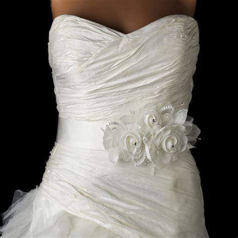 Flower Wedding Belt by Bridal Belts A Beautiful