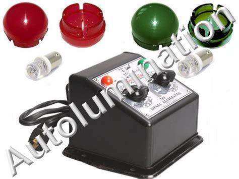 lionel transformer lens light cover caps w led