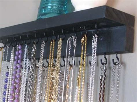 jewelry storage solutions diy 25 diy jewelry organizers blending unique vintage style