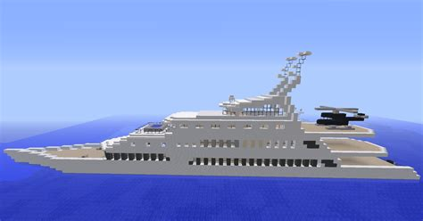 minecraft yot boat minecraft grand yacht de luxe by matmorejeux d 233 butant