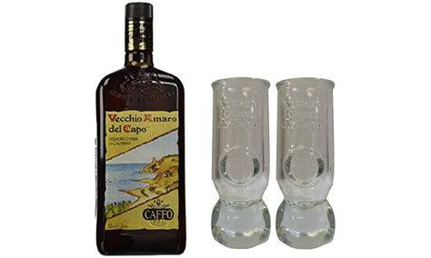 bicchieri da amaro fino a 24 su vecchio amaro capo e bicchieri groupon