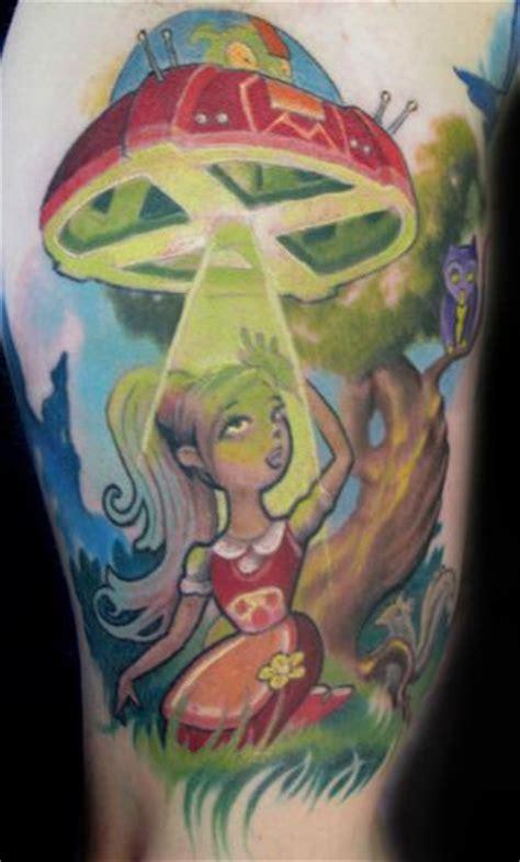 new school alien tattoo tattoos