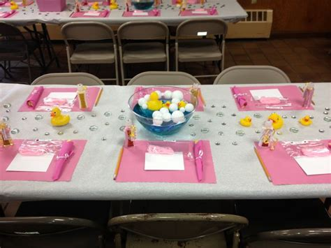 Pink Rubber Duck Baby Shower Decorations by Pink Rubber Duck Baby Shower