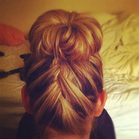 how to have a bun with a plait wrapped around it best hair braids and buns for summer