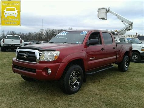 Toyota Pennsylvania Used 2005 Toyota Tacoma V6 In Dillsburg Pa At Wessels Used