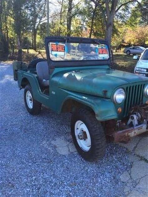 Jeeps For Sale In Mississippi 1967 Jeep Cj5 For Sale In Mississippi Classics