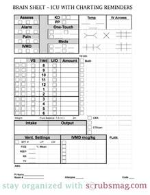 Nursing Sheet Template by Icu Report Sheet Templates Images