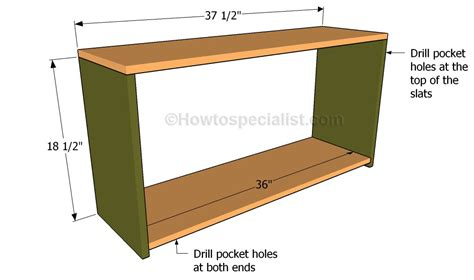 how to build a shoe bench how to build a shoe bench howtospecialist how to build