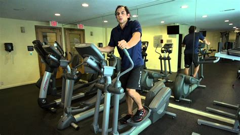 how to use elliptical machines for flat abs firm buttocks pro workout