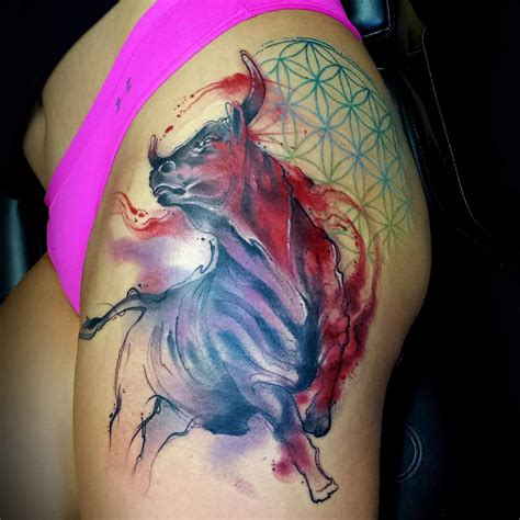 taurus tattoo ideas bull tattoos designs ideas and meaning tattoos for you