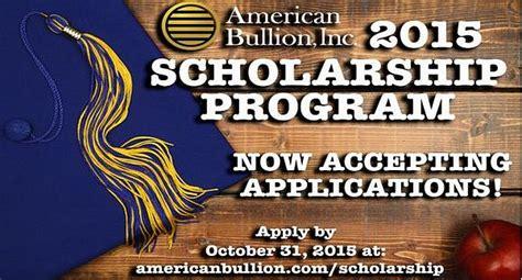 American Sweepstakes Advisor - american bullion scholarship program 2017 2018 usascholarships com