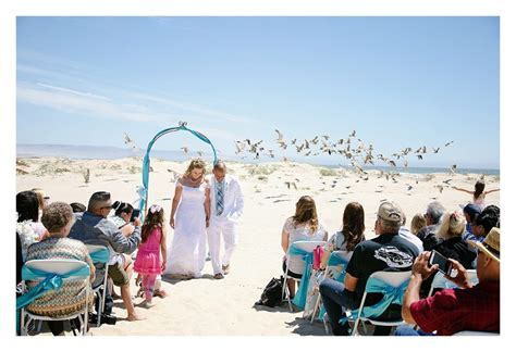 wedding in pismo ca wedding at pismo