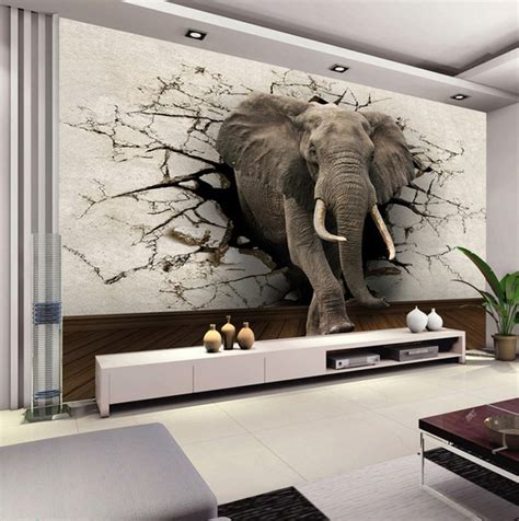custom 3d elephant wall mural personalized giant photo seven things you probably didn t know about personalized