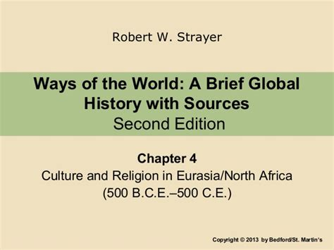 chapters in the history of the in the isles classic reprint books strayer ch 4 lecture culture religion in eurasia