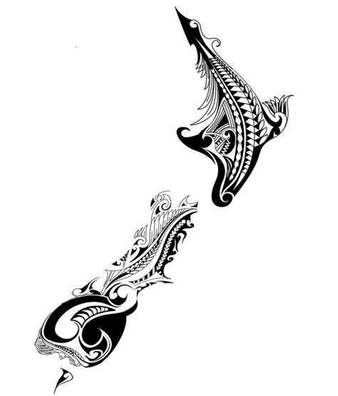 new zealand tribal tattoos new zealand map maori design search s