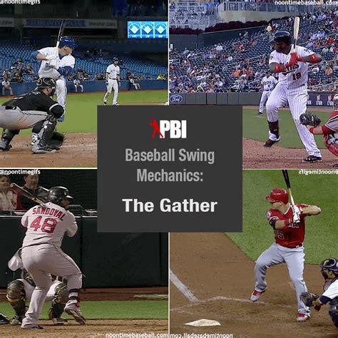 mechanics of baseball swing baseball hitting mechanics part 3 the gather pro