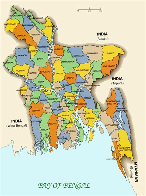 map of bangladesh small administrative map of bangladesh bangladesh small administrative map vidiani maps